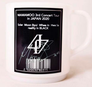 """MAMAMOO 3rd Concert Tour In Japan 2020"" Mug Cup"