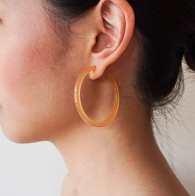 """Cirque - Apricot"" Earring"