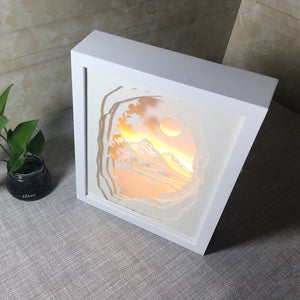 Zen Monk Shadow Box