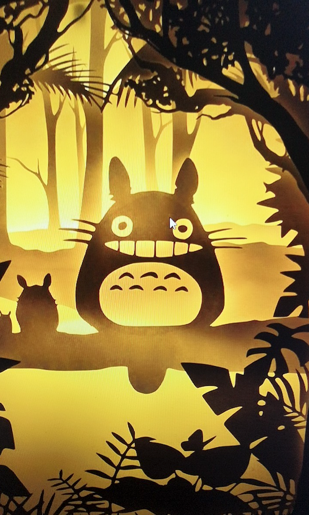 Totoro Spirit of the Forest