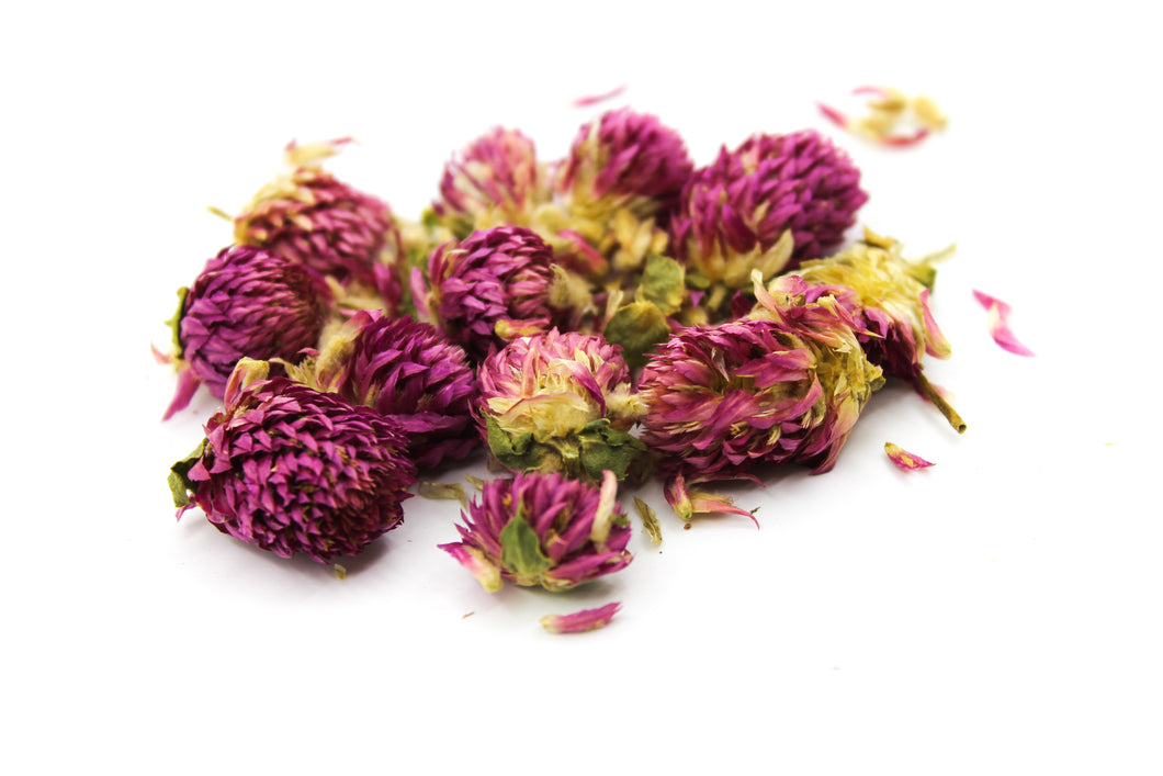 Pink Globe Amaranth Tea