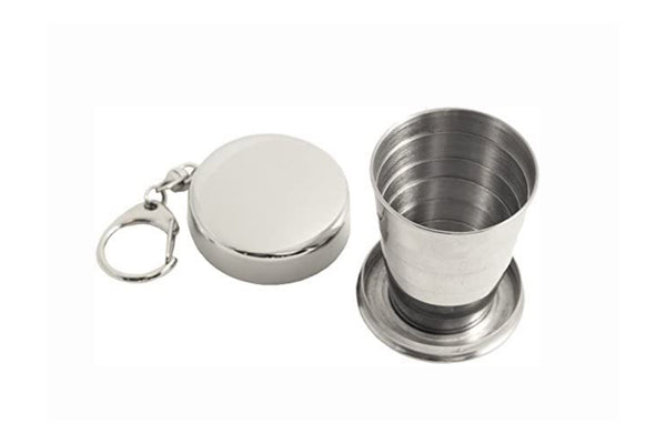 Collapsible Metal Shotglass