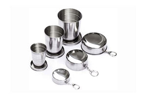 Collapsible Metal Cup