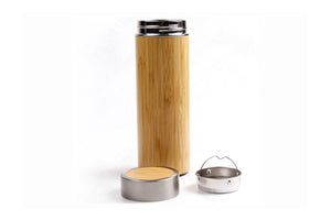 Bamboo Tumbler | Screw Top Lid