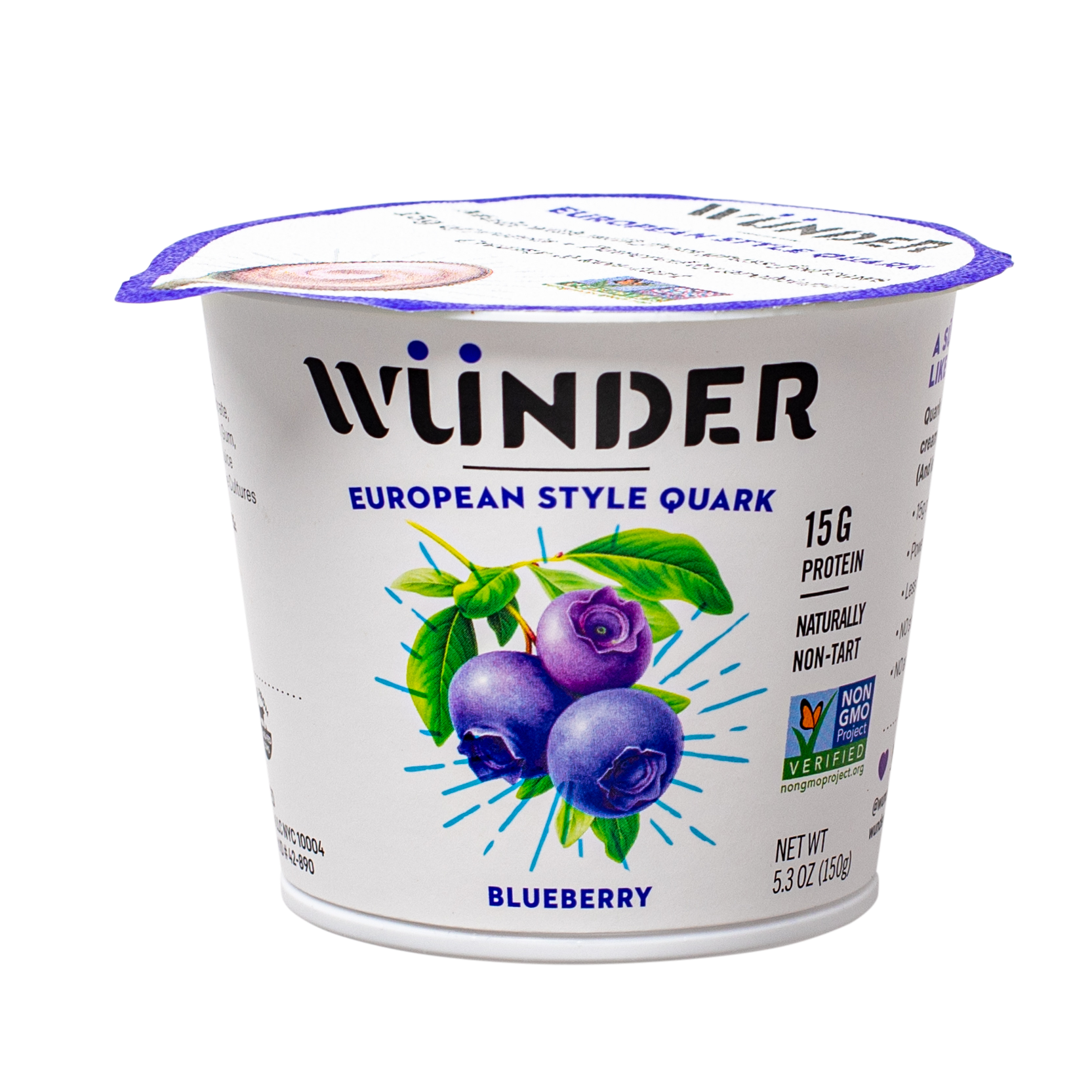 Blueberry Quark 5.3oz 8-Pack