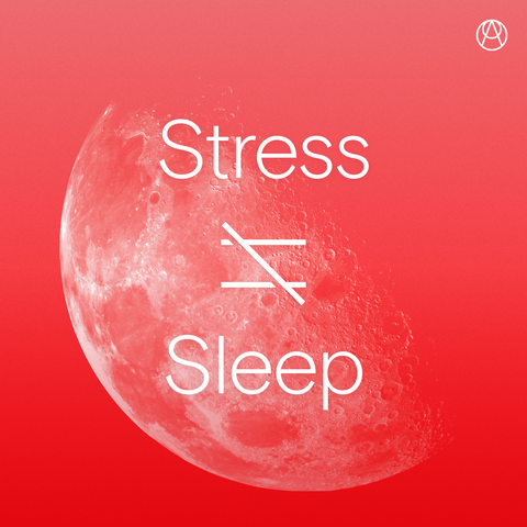Stress is not equal to sleep