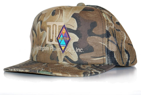 moth thrift leaf camo hat