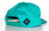 5-panel cord cap in jade