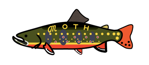 brook trout sticker