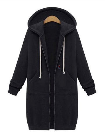changer extra long hoodie