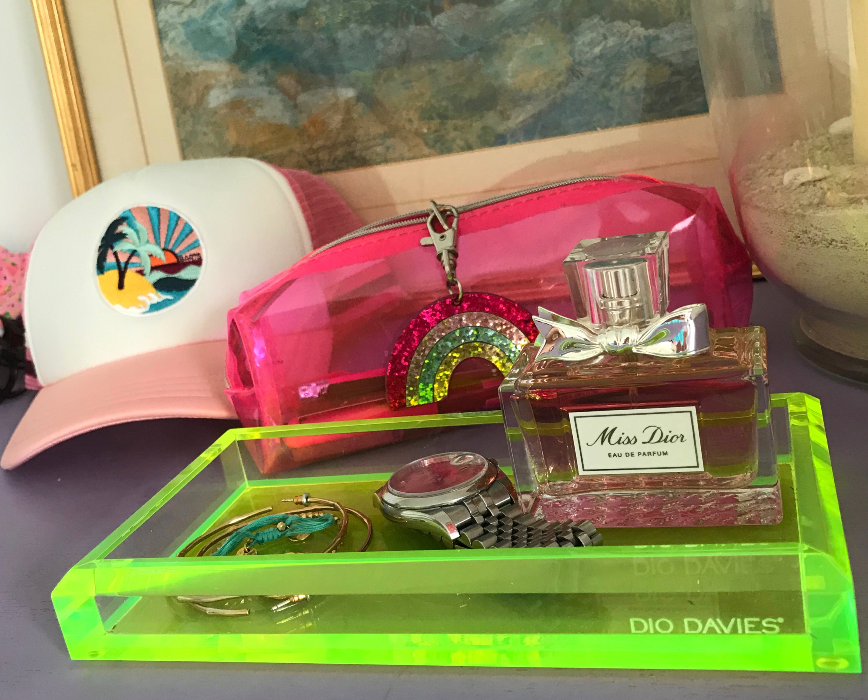NEON DRESSING TRAY