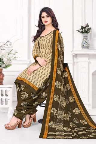 Amazing Mehendi Green Color Function Wear Leyon Designer Printed Salwar Suit for women