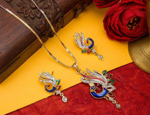 Fashion Jewellery Pandent Set