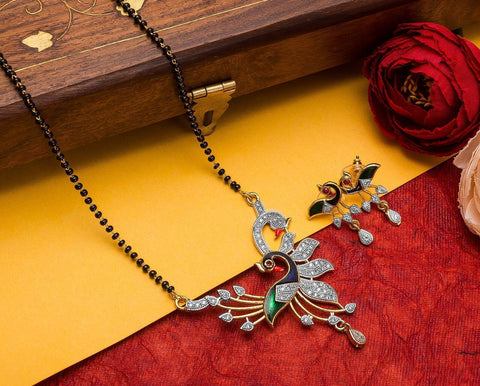 Wondrous Imitation Mangalsutra Set
