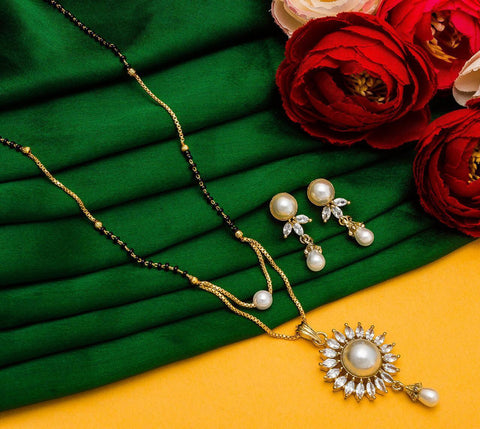 Beautiful Imitation Mangalsutra Set