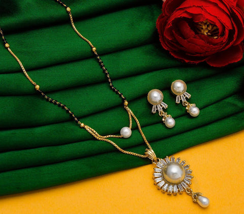 Attractive Imitation Mangalsutra Set
