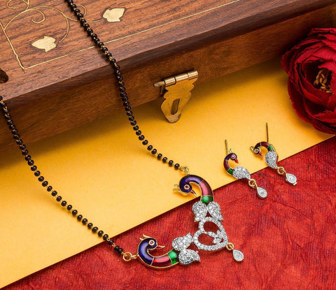 Comely Fashionable Mangalsutra Set