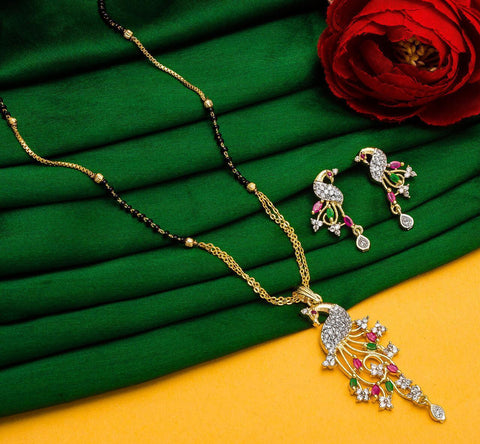 Pretty Fashionable Mangalsutra Set