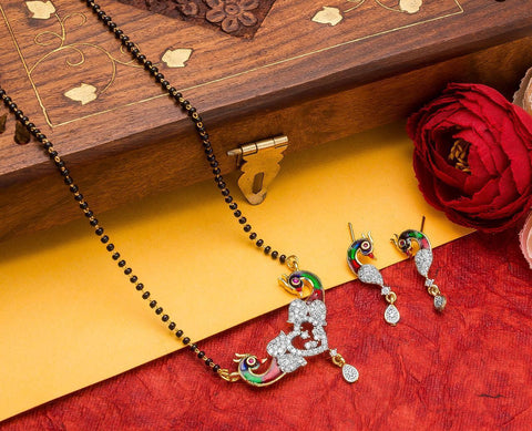 Sensational Fashionable Mangalsutra Set