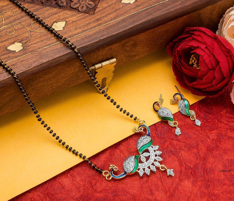 Radiant Fashionable Mangalsutra Set
