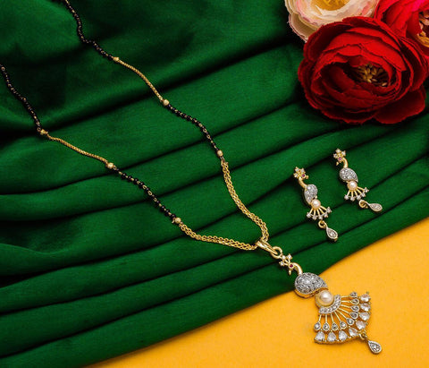 Striking Fashionable Mangalsutra Set