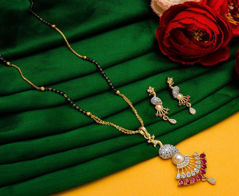 Dazzling Fashionable Mangalsutra Set