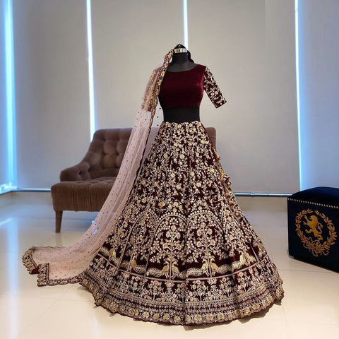 Bridal Wear Latest Designer Lehenga Choli