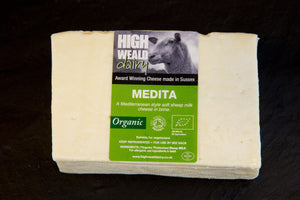 High Weald Organic Medita Feta (125g)