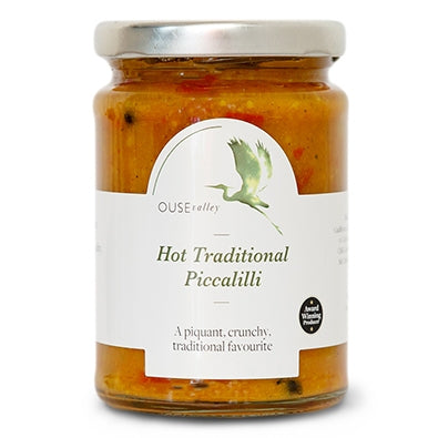 Ouse Valley Foods Hot Traditional Piccalilli (300g)