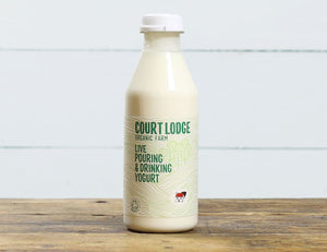 Court Lodge Natural Organic Pouring Yoghurt (500ml)