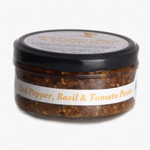 Ouse Valley Foods Red Pepper, Basil & Tomato Pesto (150g)