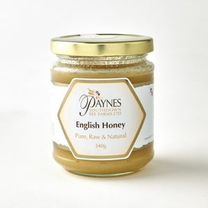 Raw, unpasterised South Downs honey - set - 340g