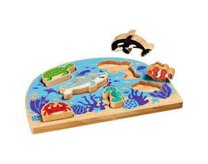 Puzzle animaux Marin