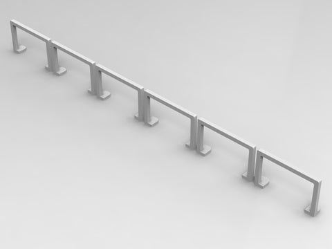 10-PACK ULTRA THIN CRUSH BARRIERS