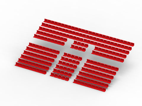 260 STANDARD SEATS FOR A TWO TIER SUBBUTEO GRANDSTAND (REF 61216 AND 61217)