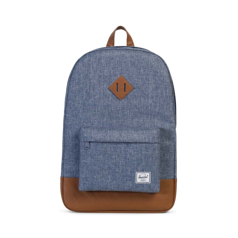 Heritage Backpack x Dark Chambray Crosshatch