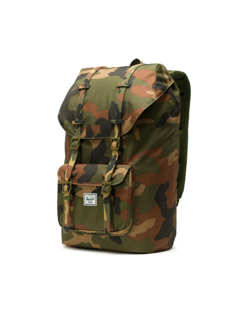 Little America Backpack x Woodland Camo