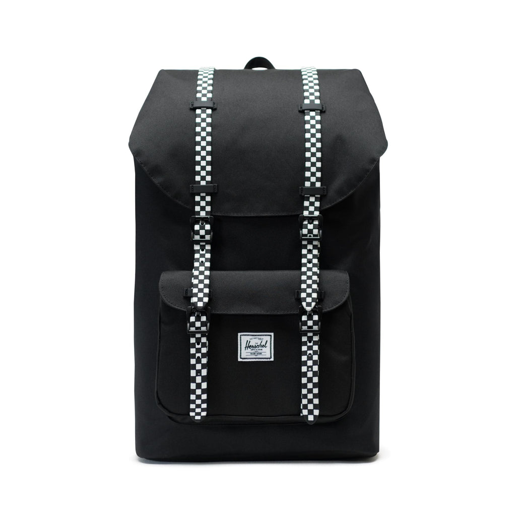 5d323816dfd Little America Backpack x Black Checkerboard