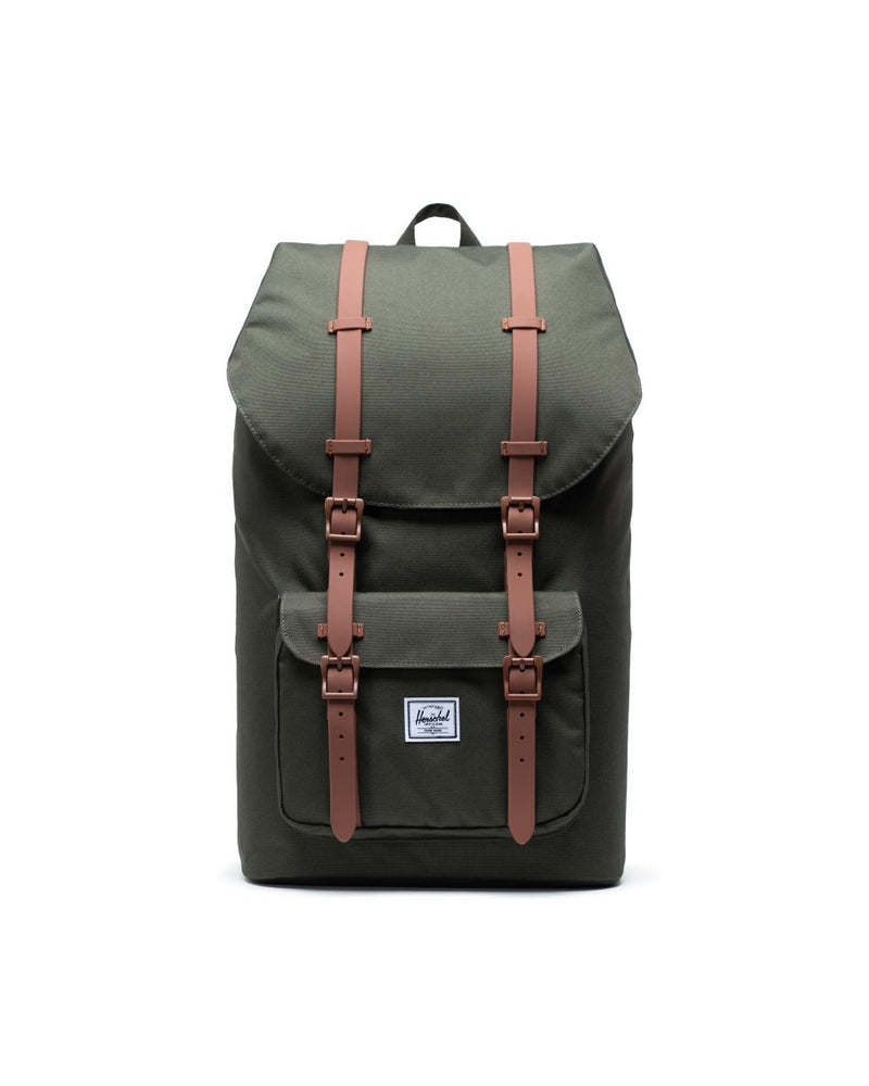 Little America Backpack x Olive/Saddle Brown