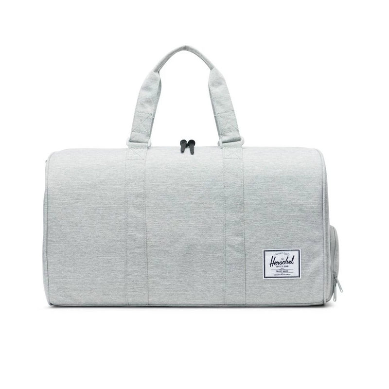 Novel Duffle x Light Grey Crosshatch