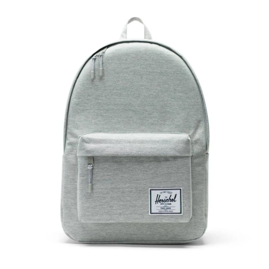 Classic Backpack XL x Light Grey Crosshatch