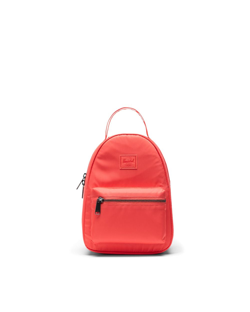 Herschel Nova Mini Satin Backpack x Hot Coral