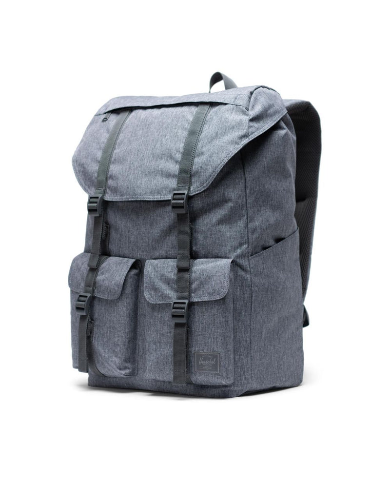 Buckingham Backpack Light x Raven Crosshatch
