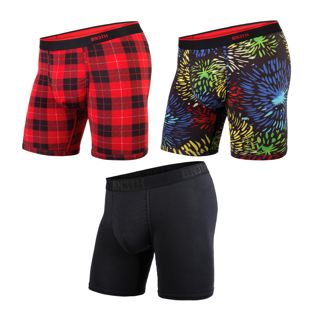 BN3TH Boxer Brief x 3-Pack Holiday