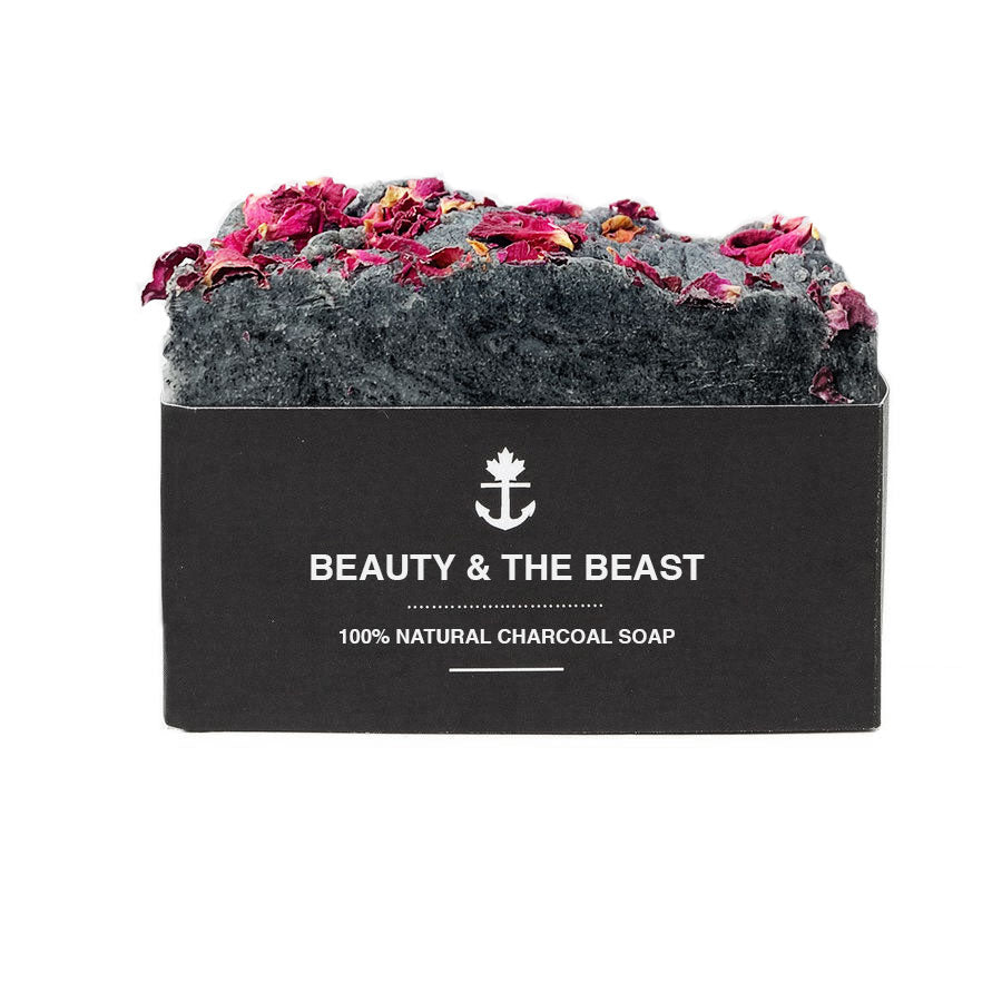Beauty & The Beast Charcoal Soap