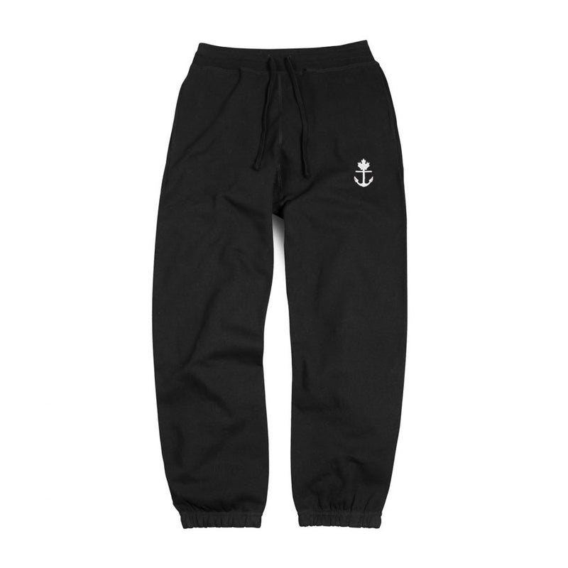 Heavy-Duty Black Sweatpants