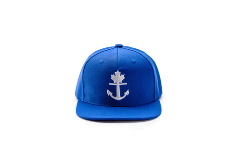 Classic Blue Anchor Snapback