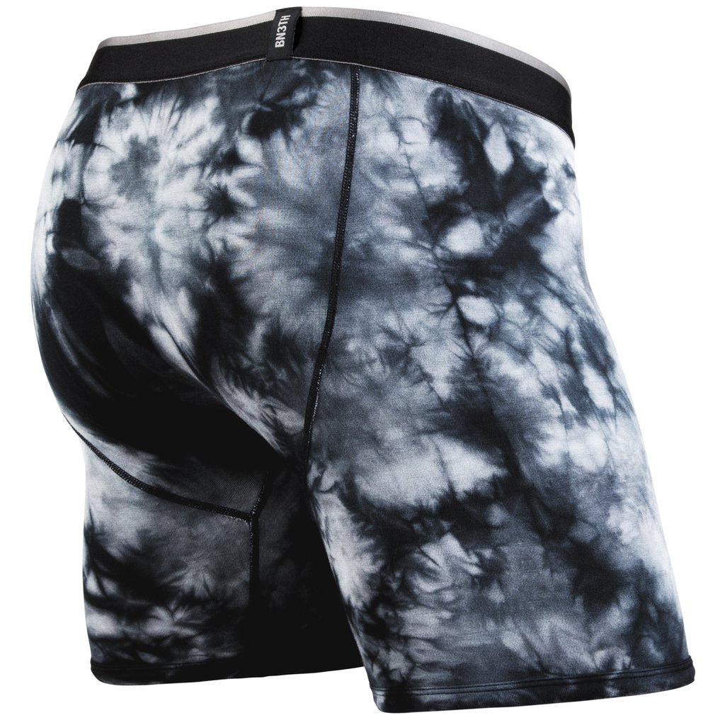 BN3TH Boxer Brief x SHIBORI ACID WASH BLACK