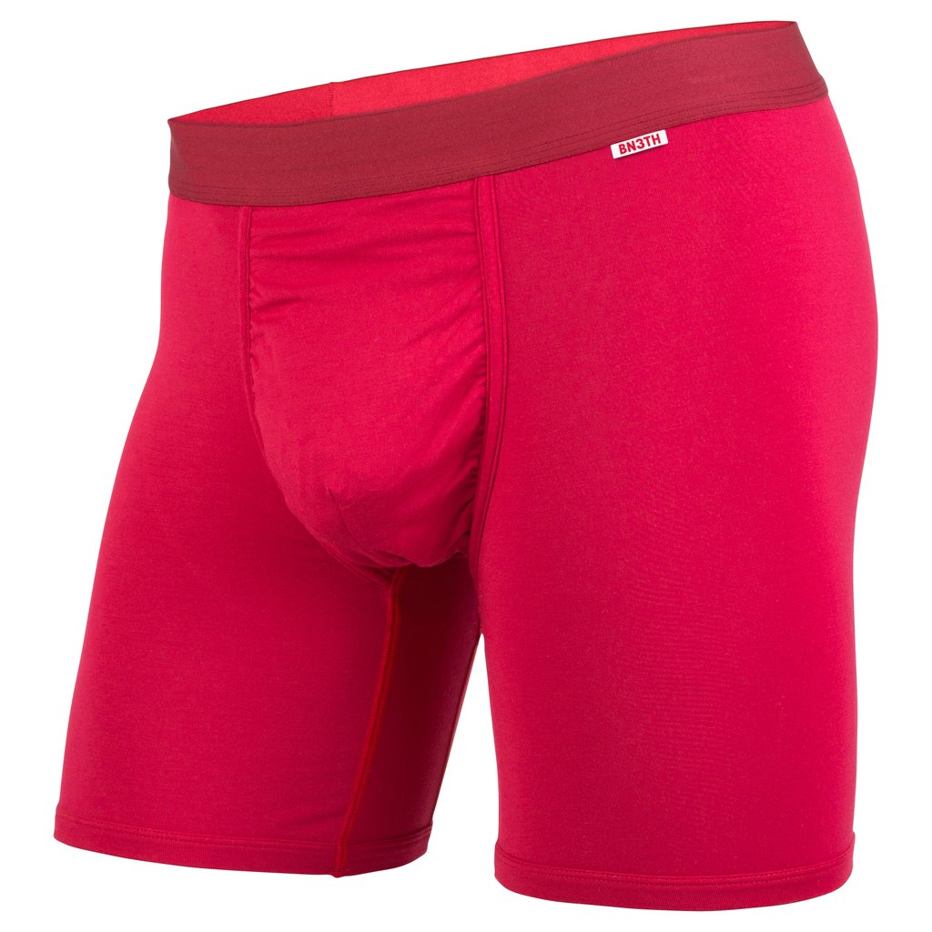 BN3TH Boxer Brief x Solid Crimson