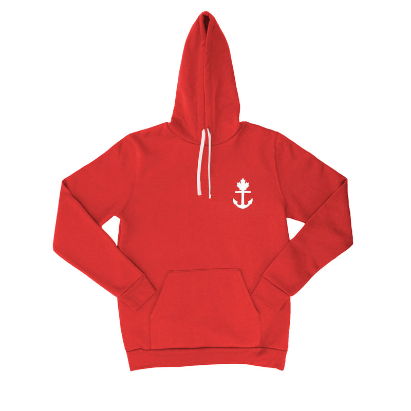 Red Truly Unique Hoodie